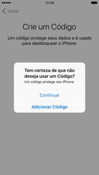 Apple iPhone iOS 10 - Primeiros passos - Como ativar seu aparelho - Etapa 15