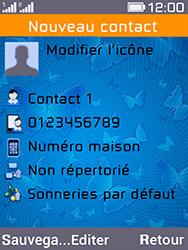 Archos F28 - Contact, Appels, SMS/MMS - Ajouter un contact - Étape 8