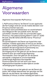 Microsoft Lumia 532 - Applicaties - MyProximus - Stap 11