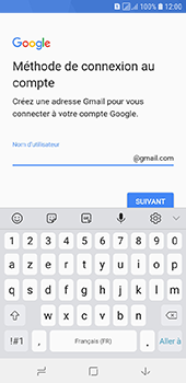 Samsung Galaxy A6 - Applications - Créer un compte - Étape 10