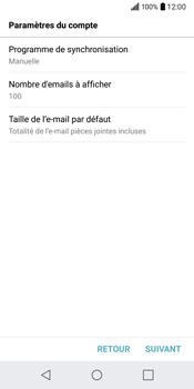 LG Q6 - E-mail - Configuration manuelle - Étape 17