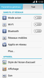 Huawei Ascend Y550 - Bluetooth - connexion Bluetooth - Étape 5