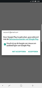 Samsung Galaxy Note 8 (SM-N950F) - Applicaties - Account aanmaken - Stap 19