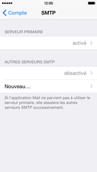 Apple iPhone 5s - iOS 8 - E-mail - Configurer l
