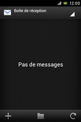 Sony ST23i Xperia Miro - E-mail - envoyer un e-mail - Étape 3