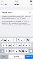 Apple iPhone 5c (iOS 8) - Internet et connexion - Partager votre connexion en Wi-Fi - Étape 8