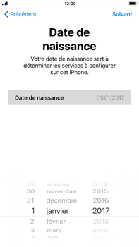 Apple iPhone 8 Plus - Premiers pas - Créer un compte - Étape 19