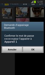 Samsung Galaxy Express - Photos, vidéos, musique - Envoyer une photo via Bluetooth - Étape 13