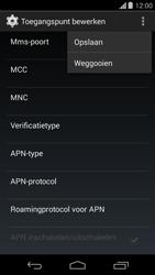 Motorola Moto G (1st Gen) (Kitkat) - Internet - handmatig instellen - Stap 17