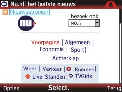 Nokia C3-00 - Internet - hoe te internetten - Stap 13