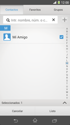Sony Xperia Z1 - Mensajería - Escribir y enviar un mensaje multimedia - Paso 9