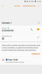 Samsung Galaxy J2 Prime - Chamadas - Como bloquear chamadas de um número específico - Etapa 9