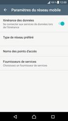 Sony Sony Xperia XA - Aller plus loin - Désactiver les données à l'étranger - Étape 6