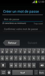 Samsung Galaxy Trend - Premiers pas - Créer un compte - Étape 11