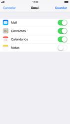 Apple iPhone 6 - iOS 11 - E-mail - Configurar Gmail - Paso 8