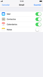 Apple iPhone 8 - E-mail - Configurar Gmail - Paso 8