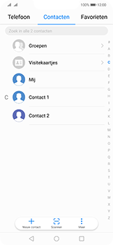 Huawei mate-20-lite-dual-sim-model-sne-lx1 - Contacten en data - Contacten overzetten via Bluetooth - Stap 3