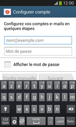 Samsung Galaxy Core Plus - E-mail - Configuration manuelle - Étape 5