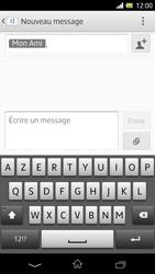 Sony Xpéria Z - Contact, Appels, SMS/MMS - Envoyer un SMS - Étape 10