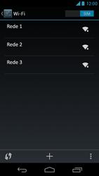 Motorola Moto X - Wi-Fi - Como configurar uma rede wi fi - Etapa 6