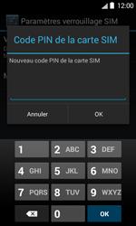 Bouygues Telecom Bs 403 - Sécuriser votre mobile - Personnaliser le code PIN de votre carte SIM - Étape 8