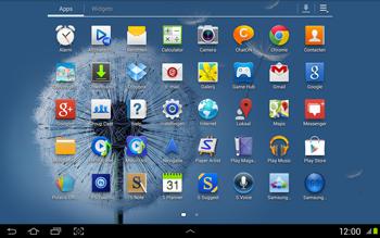 Samsung N8020 Galaxy Note 10-1 LTE - E-mail - Handmatig instellen - Stap 4
