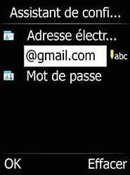 Doro 6520 - E-mails - Ajouter ou modifier votre compte Gmail - Étape 11