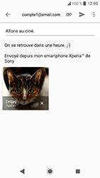 Sony Xperia XA2 - E-mail - Envoi d