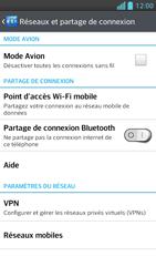 LG Optimus F5 - Internet et connexion - Partager votre connexion en Wi-Fi - Étape 5
