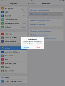 Apple iPad Pro (9.7) - Device maintenance - Retour aux réglages usine - Étape 6