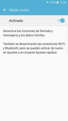 Samsung Galaxy S7 Edge - Funciones básicas - Activar o desactivar el modo avión - Paso 6