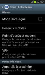 Samsung S7710 Galaxy Xcover 2 - Internet - activer ou désactiver - Étape 5