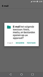 LG K11 - E-mail - Account instellen (IMAP zonder SMTP-verificatie) - Stap 23