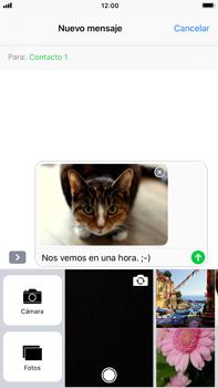 Apple iPhone 7 Plus iOS 11 - Mensajería - Escribir y enviar un mensaje multimedia - Paso 15