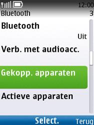 Nokia C2-01 - Bluetooth - headset, carkit verbinding - Stap 6