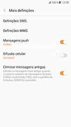 Samsung Galaxy A5 (2017) - SMS - Como configurar o centro de mensagens -  7
