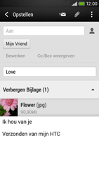 HTC Desire 601 - E-mail - e-mail versturen - Stap 16