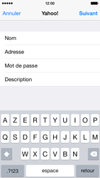 Apple iPhone 5c - iOS 8 - E-mail - 032b. Email wizard - Yahoo - Étape 8