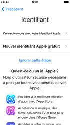 Apple iPhone 5 - Premiers pas - Créer un compte - Étape 10