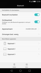 Huawei P8 - Bluetooth - headset, carkit verbinding - Stap 5