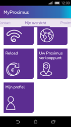 HTC Desire 320 - Applicaties - MyProximus - Stap 21