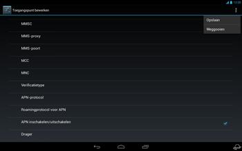 Acer Iconia Tab A3 - Internet - Handmatig instellen - Stap 17