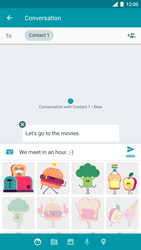 Nokia 8 (SingleSim) - MMS - Sending a picture message - Step 11
