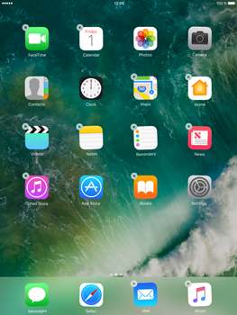 Apple iPad Air 2 iOS 10 - iOS features - Delete and Restore default iOS Apps - Step 3
