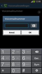 Samsung C105 Galaxy S IV Zoom LTE - Voicemail - Handmatig instellen - Stap 8