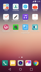 LG X Screen - E-mail - handmatig instellen (yahoo) - Stap 3