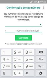 Samsung Galaxy Xcover 3 (G389) - Aplicações - Como configurar o WhatsApp -  9