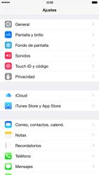 Apple iPhone 6 Plus iOS 8 - E-mail - Configurar correo electrónico - Paso 3