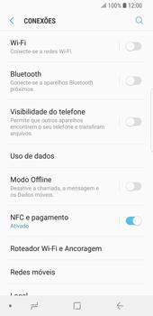 Samsung Galaxy S9 - Wi-Fi - Como configurar uma rede wi fi - Etapa 5