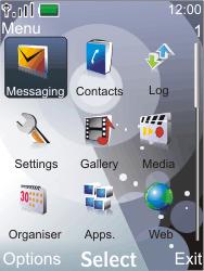 Nokia 7210 supernova - E-mail - Sending emails - Step 3